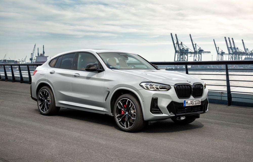BMW lansează noile X3 și X4 facelift. Versiunile M și M Competition au acum mai mult cuplu - Poza 20