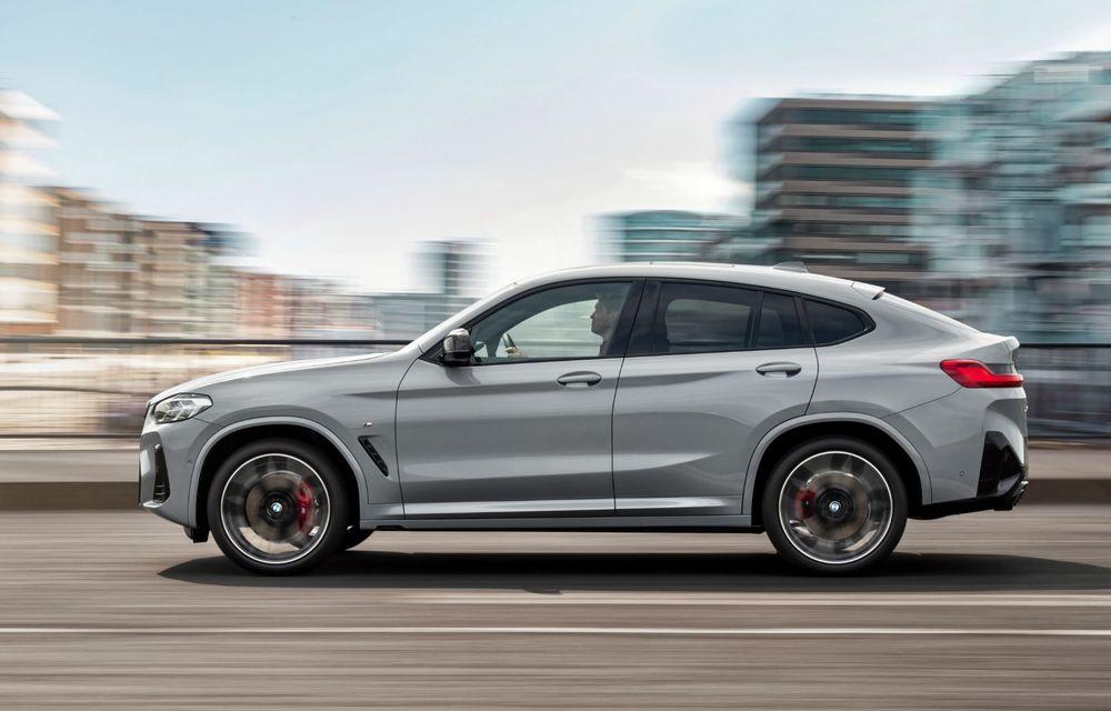 BMW lansează noile X3 și X4 facelift. Versiunile M și M Competition au acum mai mult cuplu - Poza 21