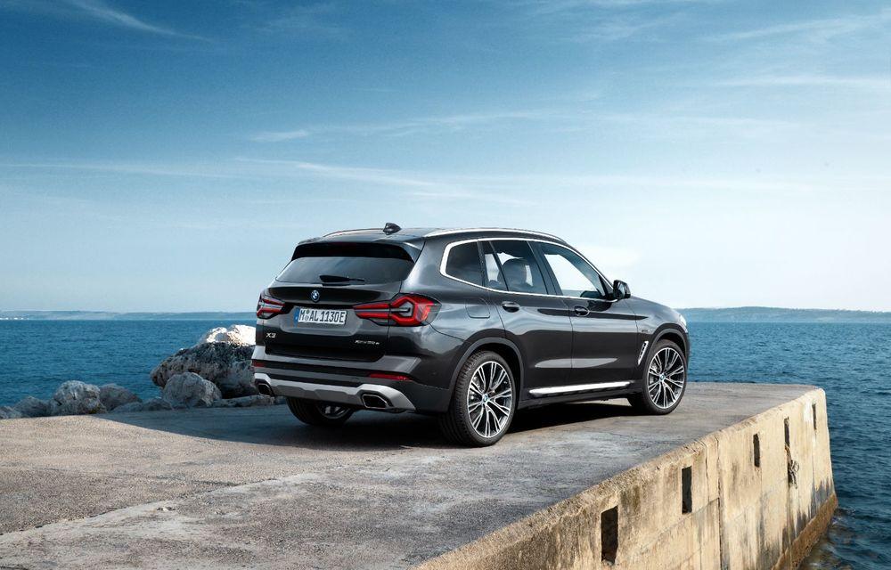 BMW lansează noile X3 și X4 facelift. Versiunile M și M Competition au acum mai mult cuplu - Poza 5