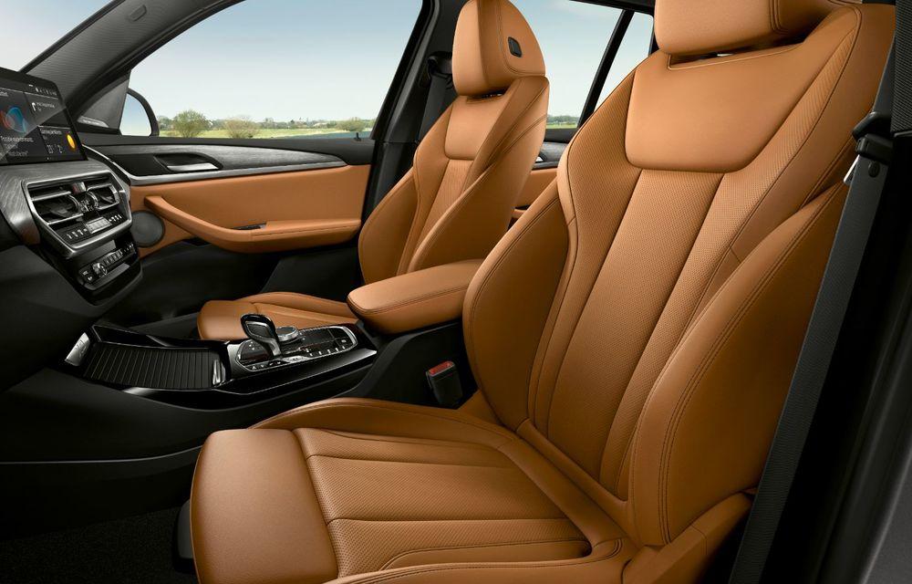 BMW lansează noile X3 și X4 facelift. Versiunile M și M Competition au acum mai mult cuplu - Poza 24