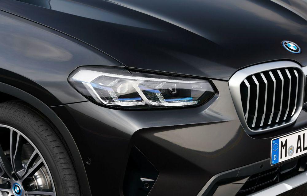 BMW lansează noile X3 și X4 facelift. Versiunile M și M Competition au acum mai mult cuplu - Poza 14