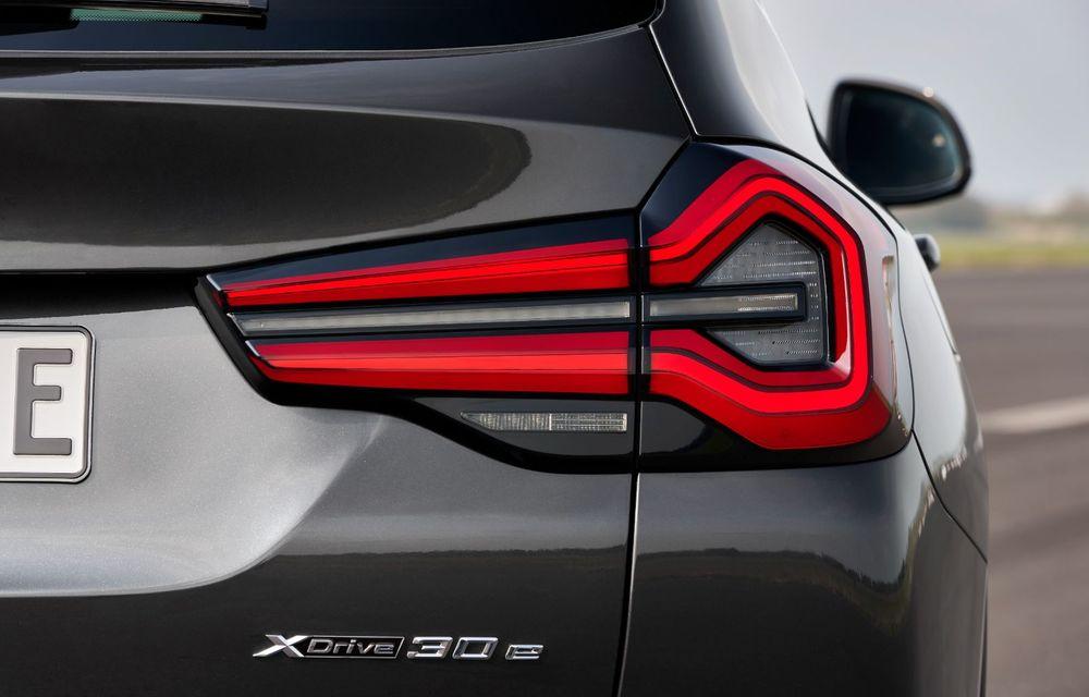 BMW lansează noile X3 și X4 facelift. Versiunile M și M Competition au acum mai mult cuplu - Poza 15