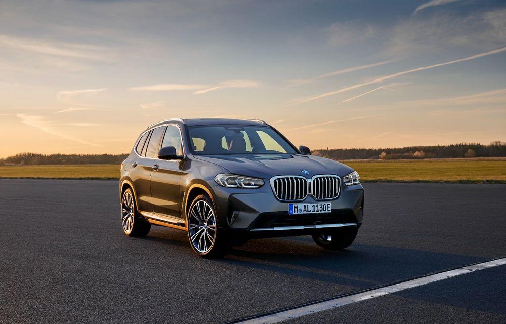 BMW lansează noile X3 și X4 facelift. Versiunile M și M Competition au acum mai mult cuplu - Poza 2