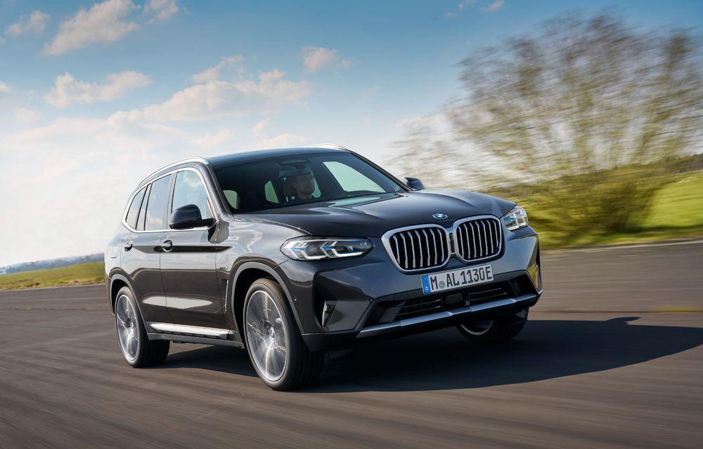 BMW lansează noile X3 și X4 facelift. Versiunile M și M Competition au acum mai mult cuplu - Poza 8