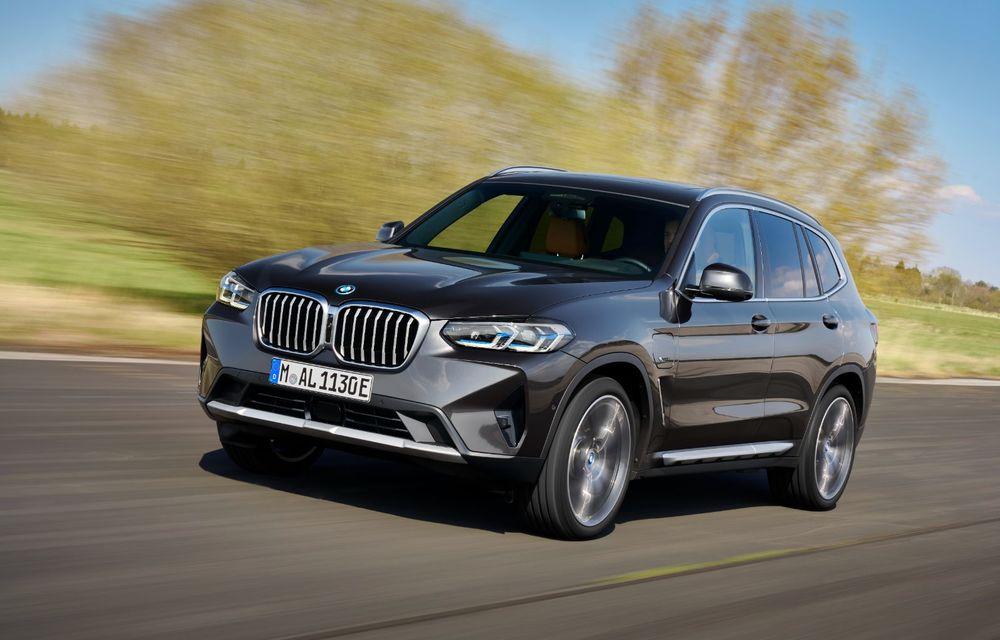 BMW lansează noile X3 și X4 facelift. Versiunile M și M Competition au acum mai mult cuplu - Poza 9