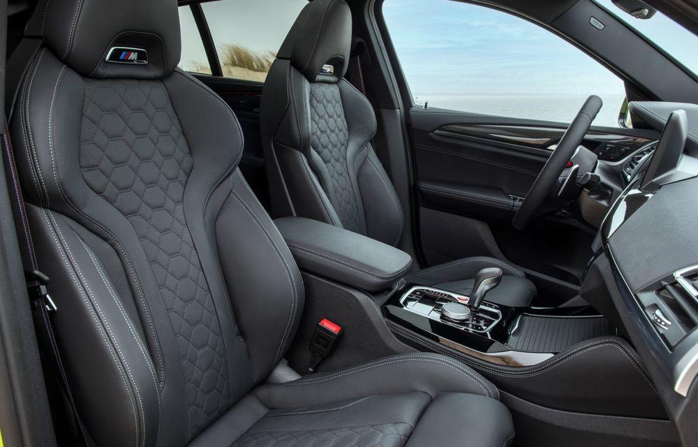 BMW lansează noile X3 și X4 facelift. Versiunile M și M Competition au acum mai mult cuplu - Poza 41