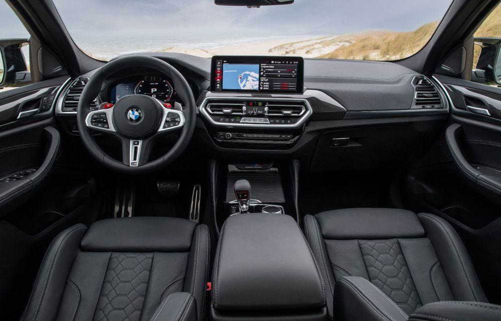 BMW lansează noile X3 și X4 facelift. Versiunile M și M Competition au acum mai mult cuplu - Poza 40