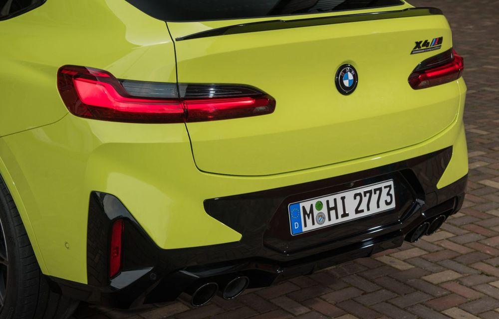 BMW lansează noile X3 și X4 facelift. Versiunile M și M Competition au acum mai mult cuplu - Poza 44