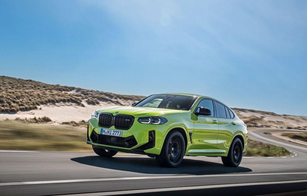 BMW lansează noile X3 și X4 facelift. Versiunile M și M Competition au acum mai mult cuplu - Poza 36