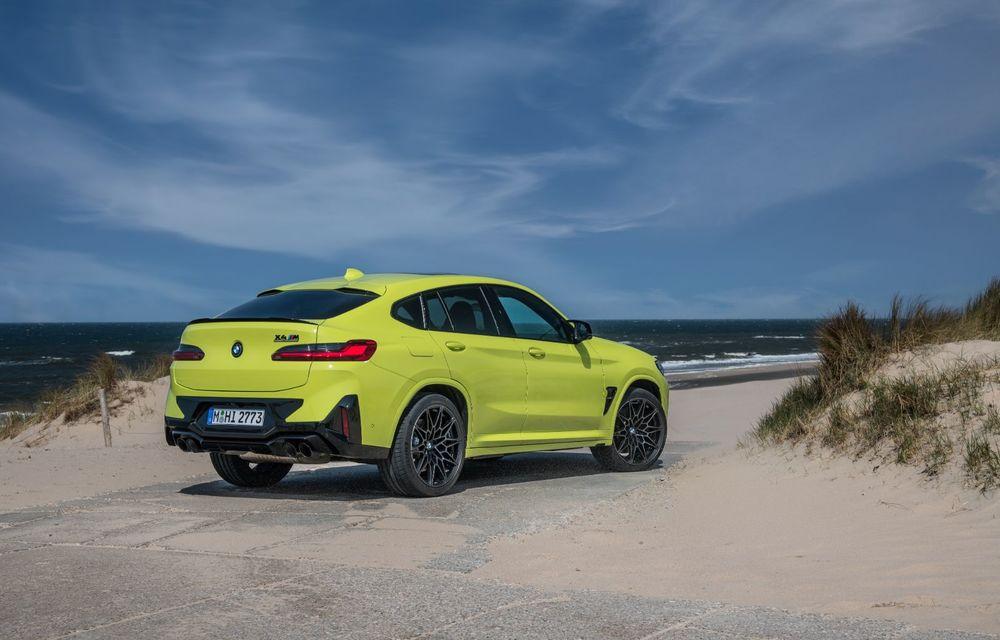 BMW lansează noile X3 și X4 facelift. Versiunile M și M Competition au acum mai mult cuplu - Poza 37