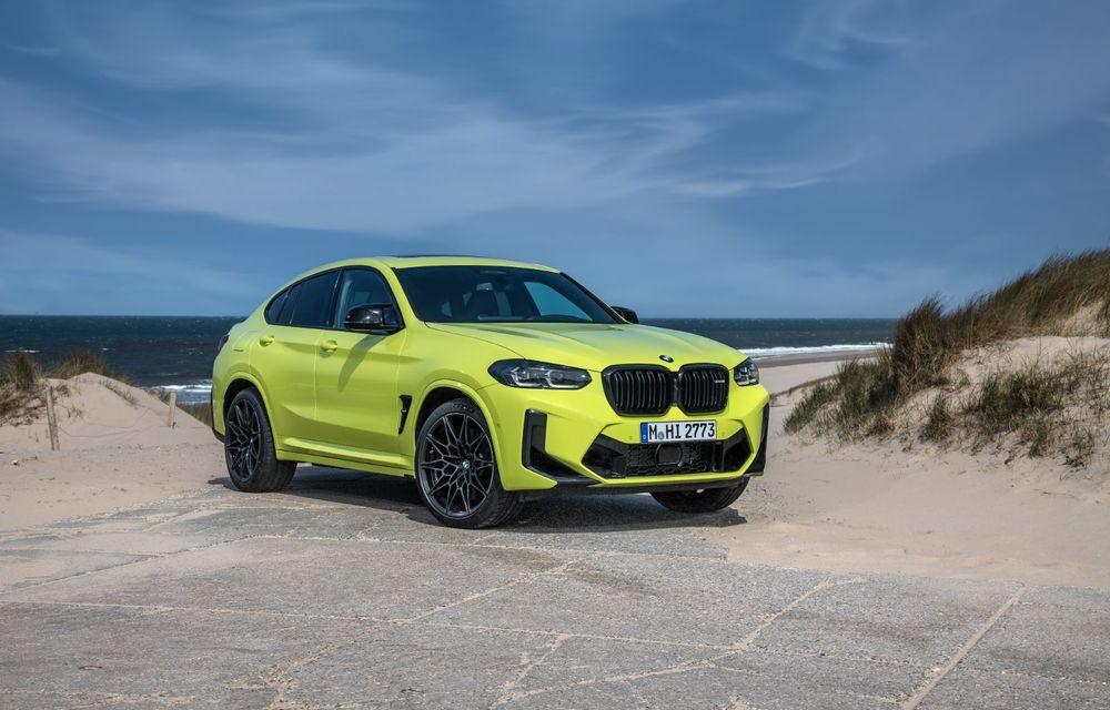 BMW lansează noile X3 și X4 facelift. Versiunile M și M Competition au acum mai mult cuplu - Poza 22