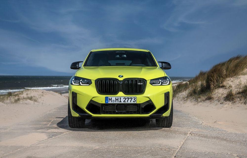 BMW lansează noile X3 și X4 facelift. Versiunile M și M Competition au acum mai mult cuplu - Poza 39
