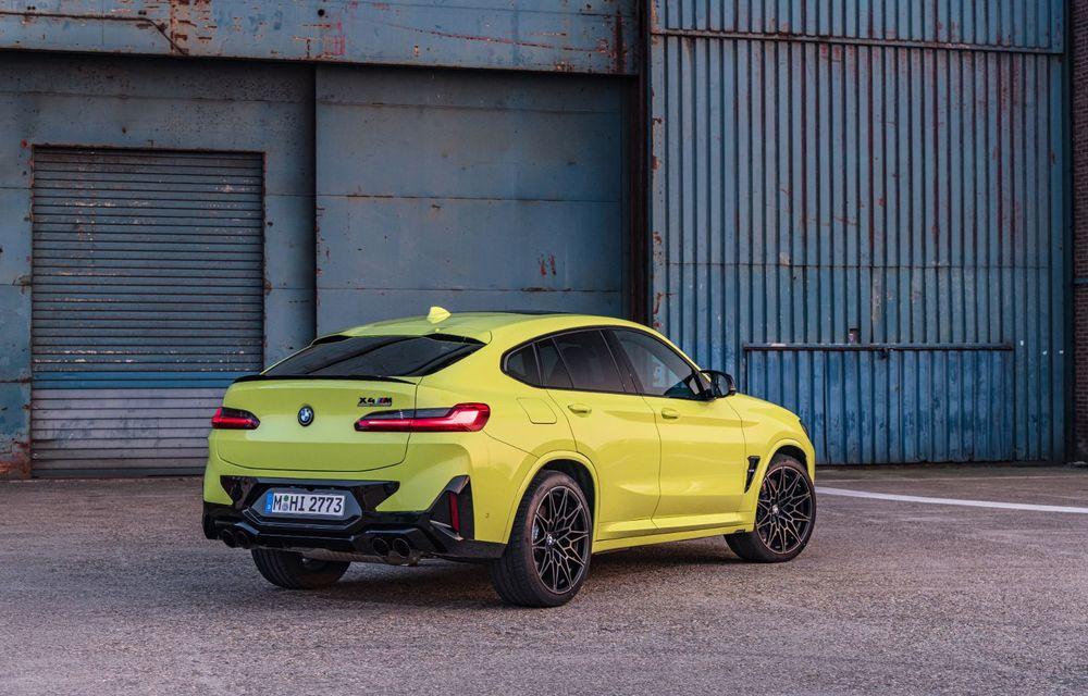 BMW lansează noile X3 și X4 facelift. Versiunile M și M Competition au acum mai mult cuplu - Poza 38