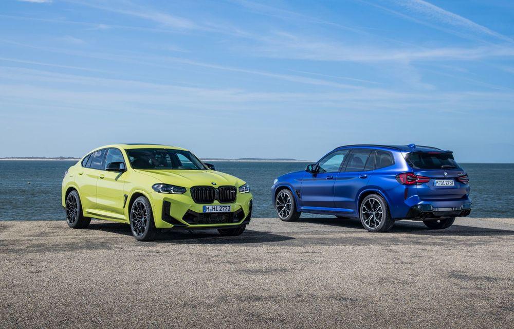 BMW lansează noile X3 și X4 facelift. Versiunile M și M Competition au acum mai mult cuplu - Poza 45