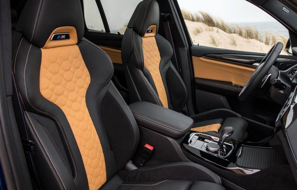 BMW lansează noile X3 și X4 facelift. Versiunile M și M Competition au acum mai mult cuplu - Poza 31