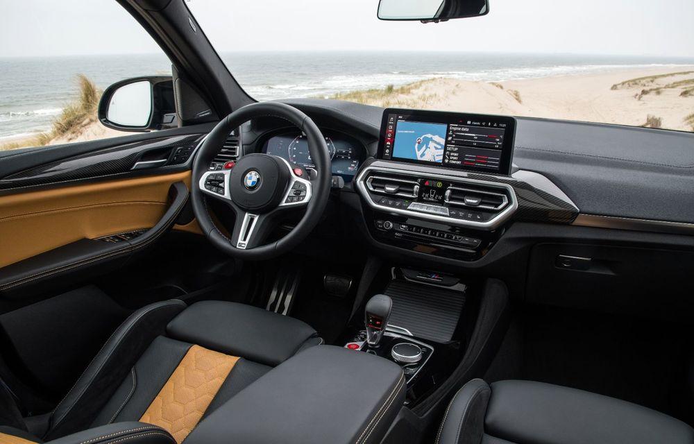 BMW lansează noile X3 și X4 facelift. Versiunile M și M Competition au acum mai mult cuplu - Poza 30