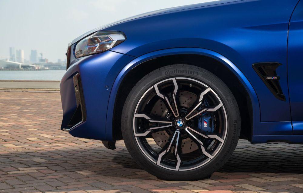 BMW lansează noile X3 și X4 facelift. Versiunile M și M Competition au acum mai mult cuplu - Poza 34