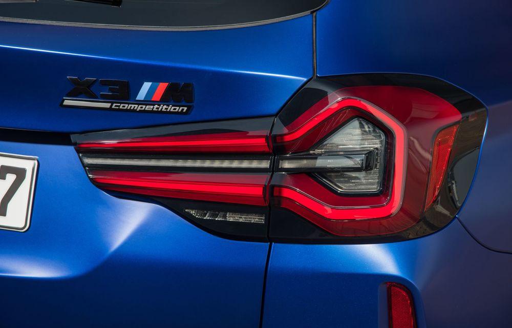 BMW lansează noile X3 și X4 facelift. Versiunile M și M Competition au acum mai mult cuplu - Poza 35