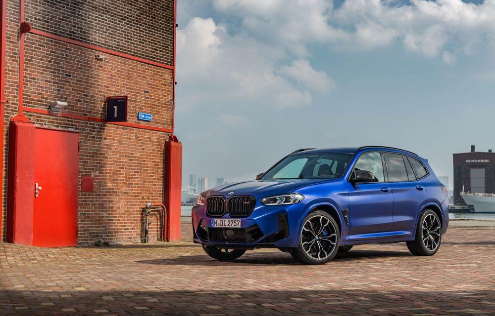 BMW lansează noile X3 și X4 facelift. Versiunile M și M Competition au acum mai mult cuplu - Poza 26