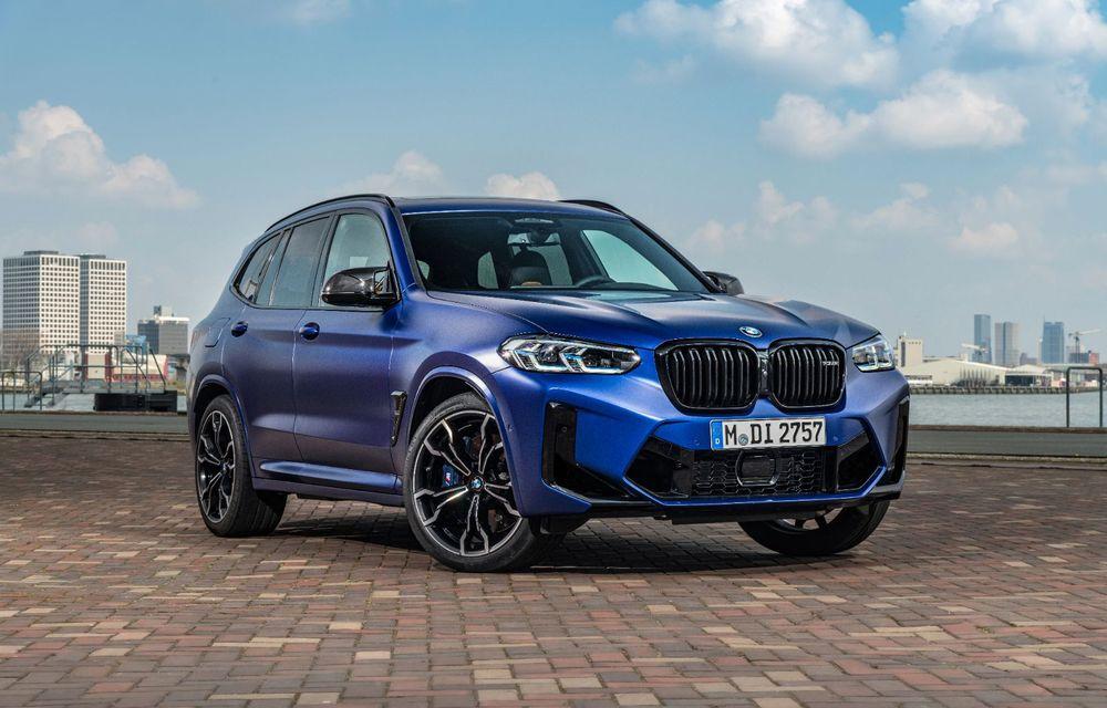 BMW lansează noile X3 și X4 facelift. Versiunile M și M Competition au acum mai mult cuplu - Poza 27
