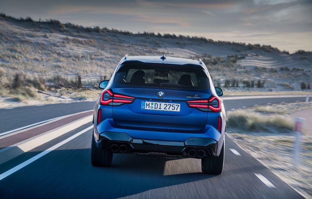 BMW lansează noile X3 și X4 facelift. Versiunile M și M Competition au acum mai mult cuplu - Poza 29
