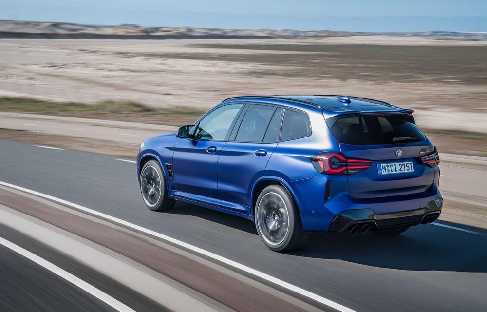 BMW lansează noile X3 și X4 facelift. Versiunile M și M Competition au acum mai mult cuplu - Poza 28