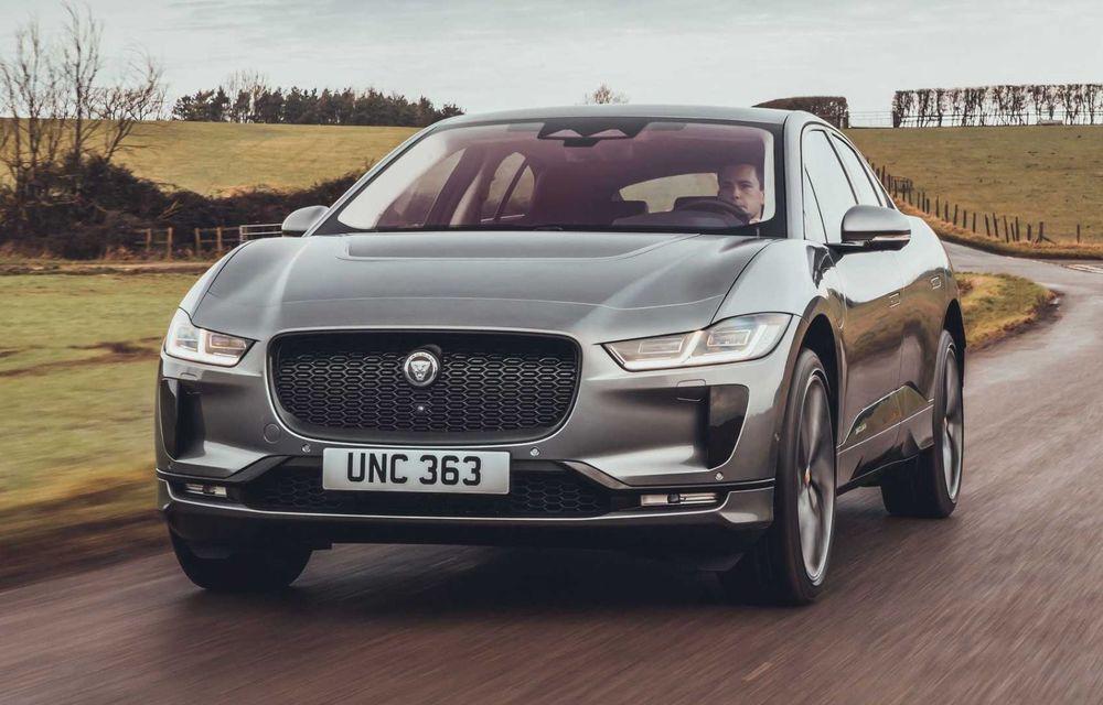 Jaguar prezintă noul I-Pace facelift. Încărcarea bateriei este acum mai rapidă - Poza 3