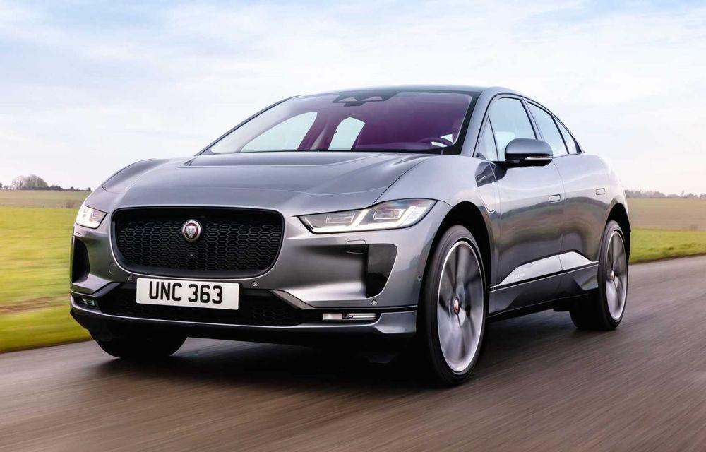 Jaguar prezintă noul I-Pace facelift. Încărcarea bateriei este acum mai rapidă - Poza 2