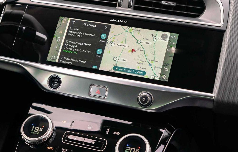 Jaguar prezintă noul I-Pace facelift. Încărcarea bateriei este acum mai rapidă - Poza 7