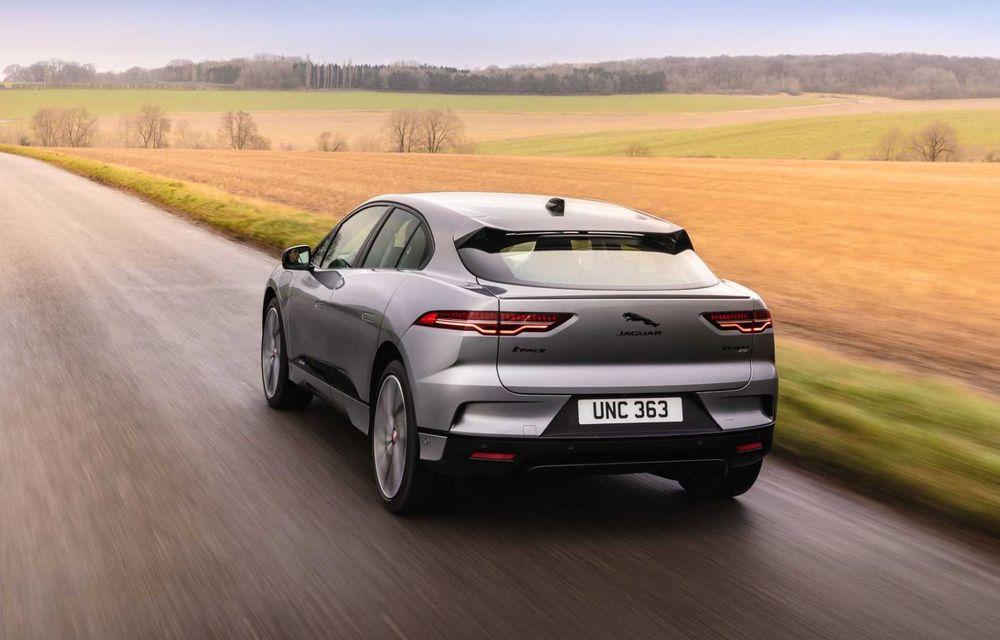 Jaguar prezintă noul I-Pace facelift. Încărcarea bateriei este acum mai rapidă - Poza 5