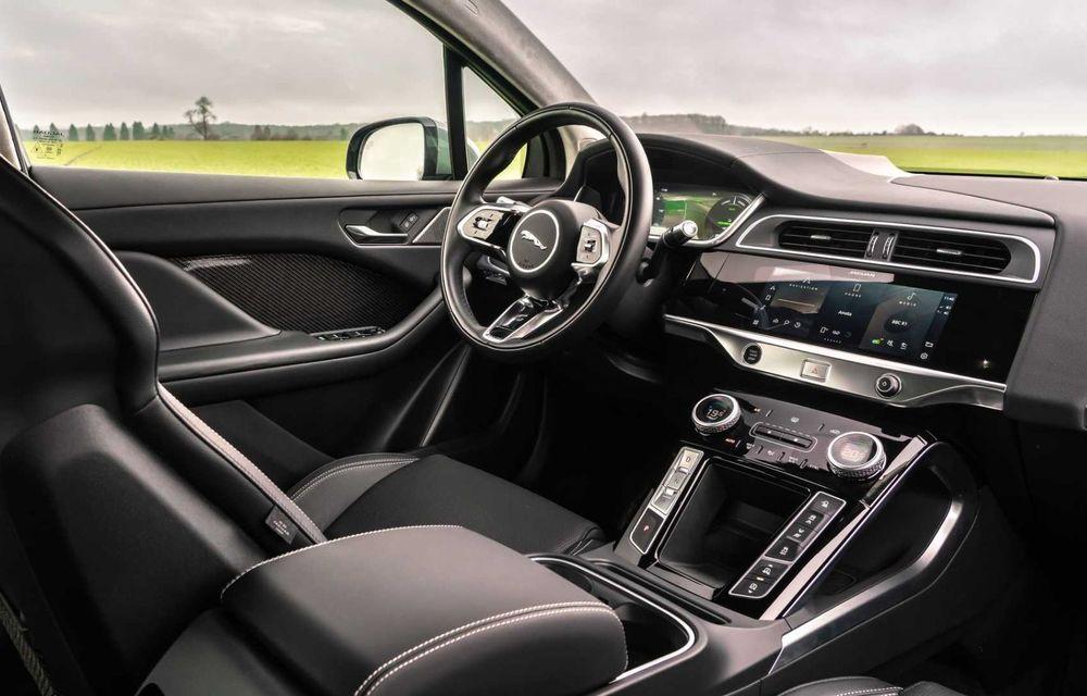 Jaguar prezintă noul I-Pace facelift. Încărcarea bateriei este acum mai rapidă - Poza 6