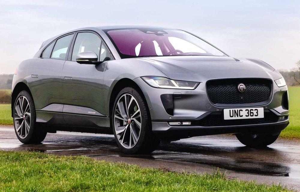 Jaguar prezintă noul I-Pace facelift. Încărcarea bateriei este acum mai rapidă - Poza 1