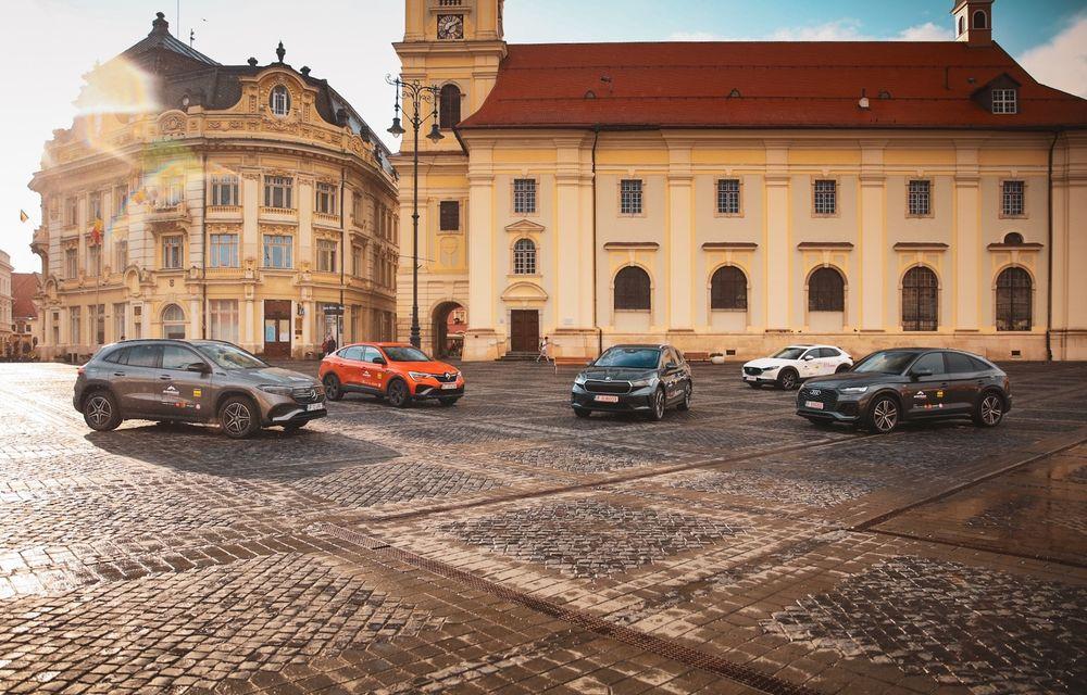 Aventour la feminin, a doua zi: Mica Elveție de la Zărnești și un curcubeu în Piața Mare din Sibiu - Poza 1