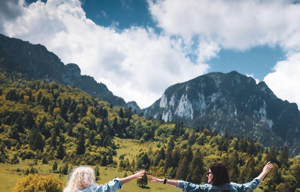Aventour la feminin, a doua zi: Mica Elveție de la Zărnești și un curcubeu în Piața Mare din Sibiu - Poza 30