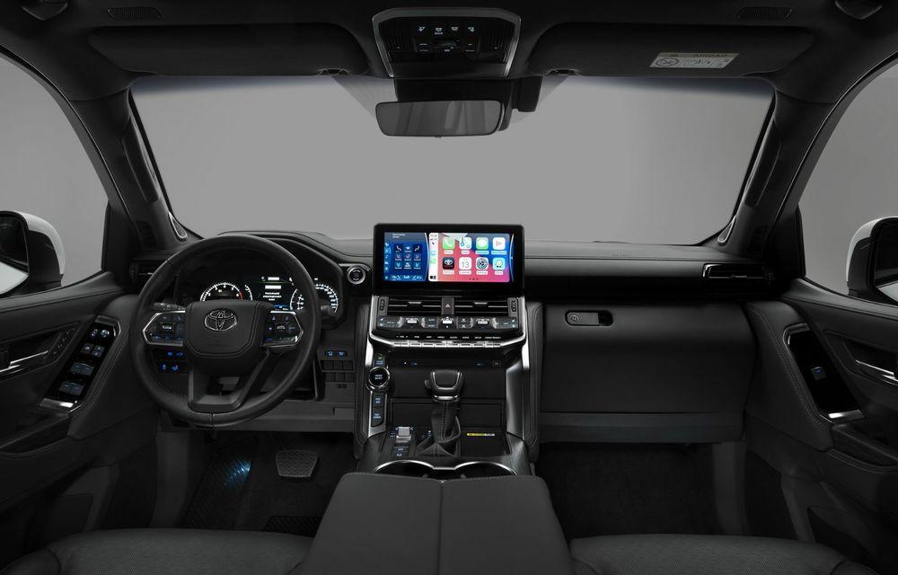 Noua generație Toyota Land Cruiser: platformă nouă și motoare V6 cu până la 415 CP - Poza 7