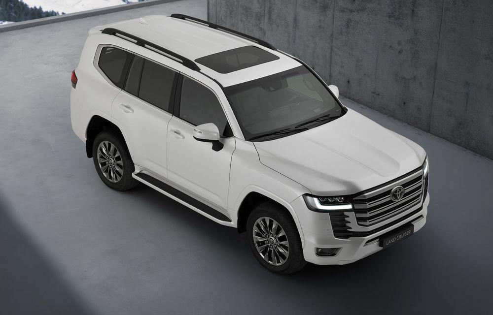 Noua generație Toyota Land Cruiser: platformă nouă și motoare V6 cu până la 415 CP - Poza 2