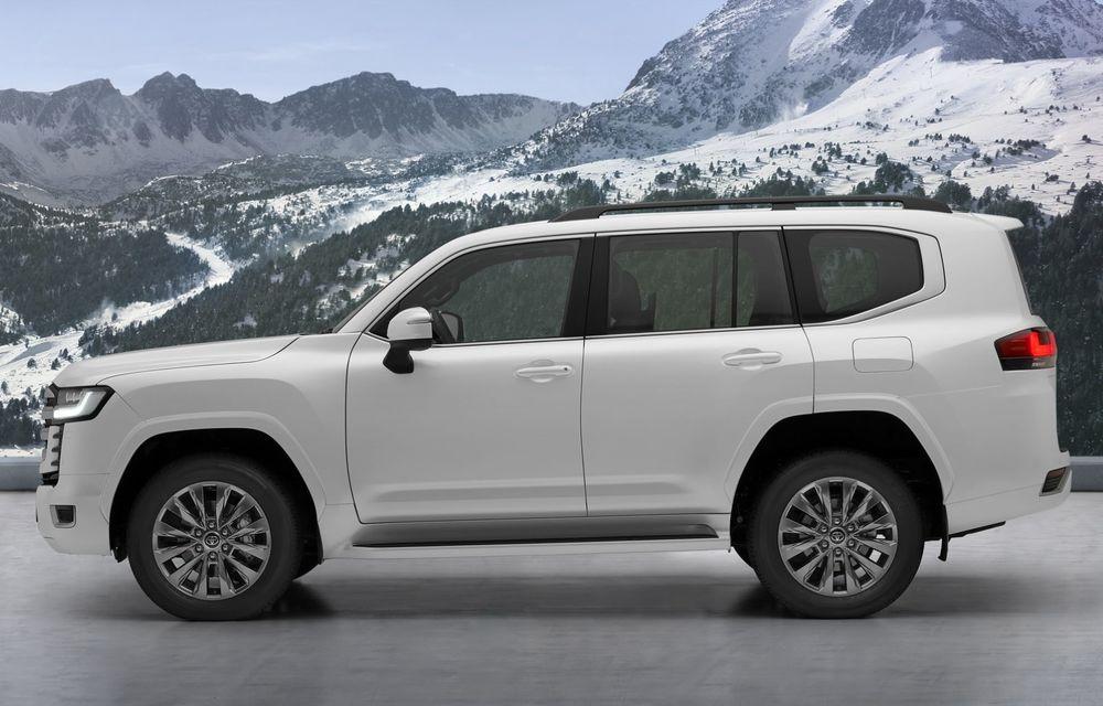 Noua generație Toyota Land Cruiser: platformă nouă și motoare V6 cu până la 415 CP - Poza 4
