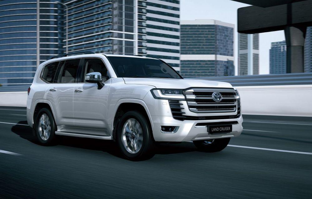 Noua generație Toyota Land Cruiser: platformă nouă și motoare V6 cu până la 415 CP - Poza 3