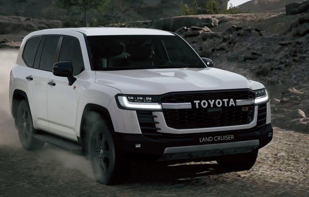 Noua generație Toyota Land Cruiser: platformă nouă și motoare V6 cu până la 415 CP - Poza 6