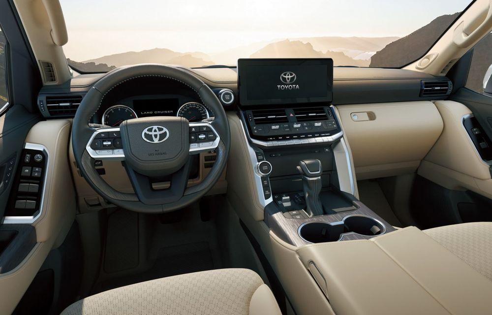 Noua generație Toyota Land Cruiser: platformă nouă și motoare V6 cu până la 415 CP - Poza 8