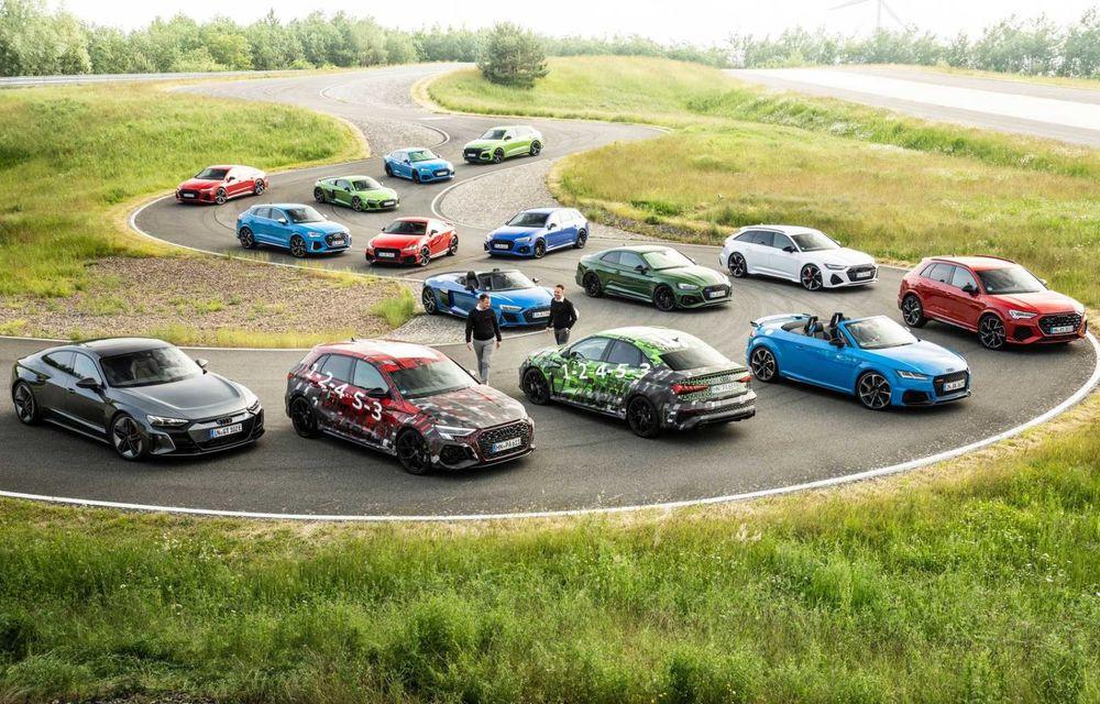 Primele imagini cu noua generație Audi RS3 sub camuflaj - Poza 3