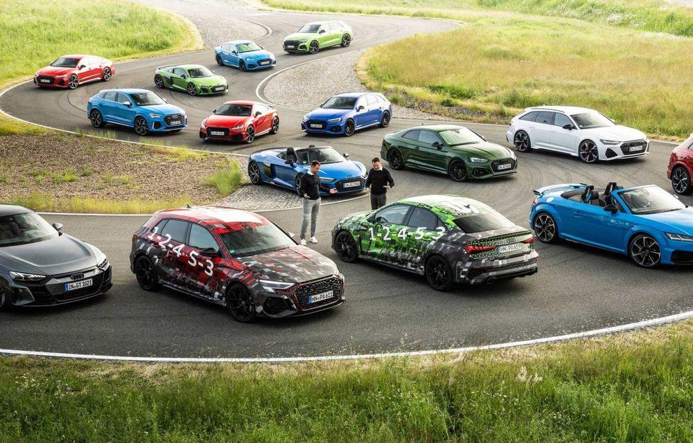 Primele imagini cu noua generație Audi RS3 sub camuflaj - Poza 4