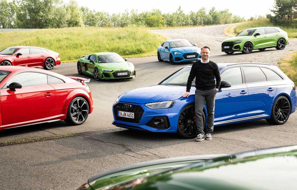 Primele imagini cu noua generație Audi RS3 sub camuflaj - Poza 9