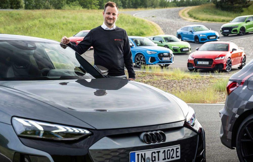Primele imagini cu noua generație Audi RS3 sub camuflaj - Poza 10