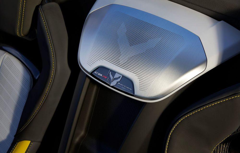 Îmbunătățiri pentru Chevrolet Corvette. Modelul american primește și o ediție limitată la 1.000 de exemplare - Poza 8
