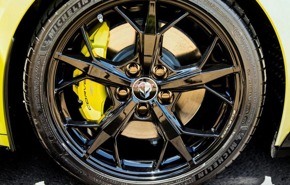 Îmbunătățiri pentru Chevrolet Corvette. Modelul american primește și o ediție limitată la 1.000 de exemplare - Poza 10