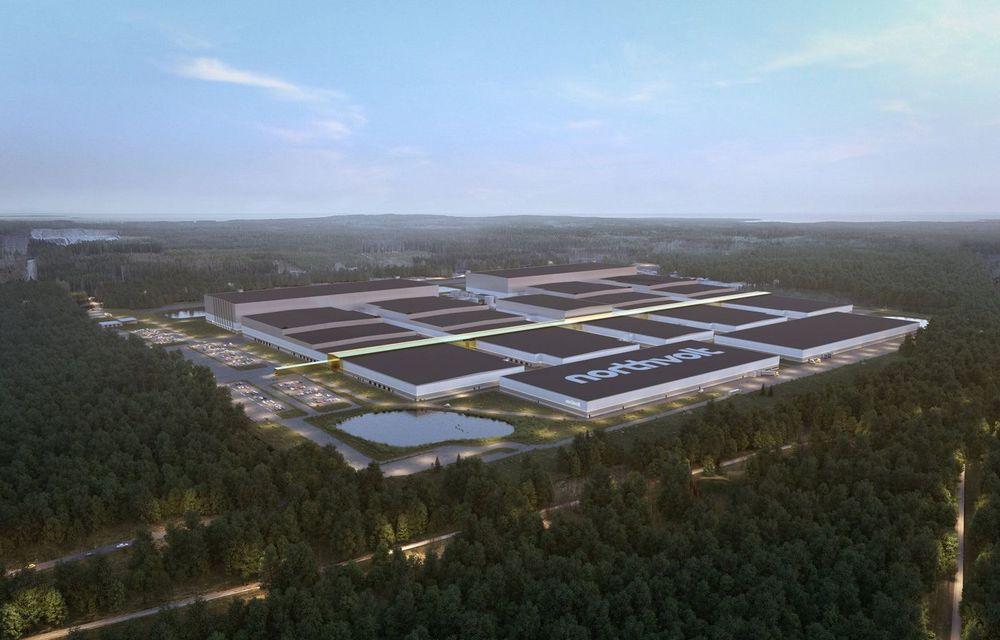 Volkswagen investește 500 de milioane de euro în producătorul de baterii Northvolt - Poza 1