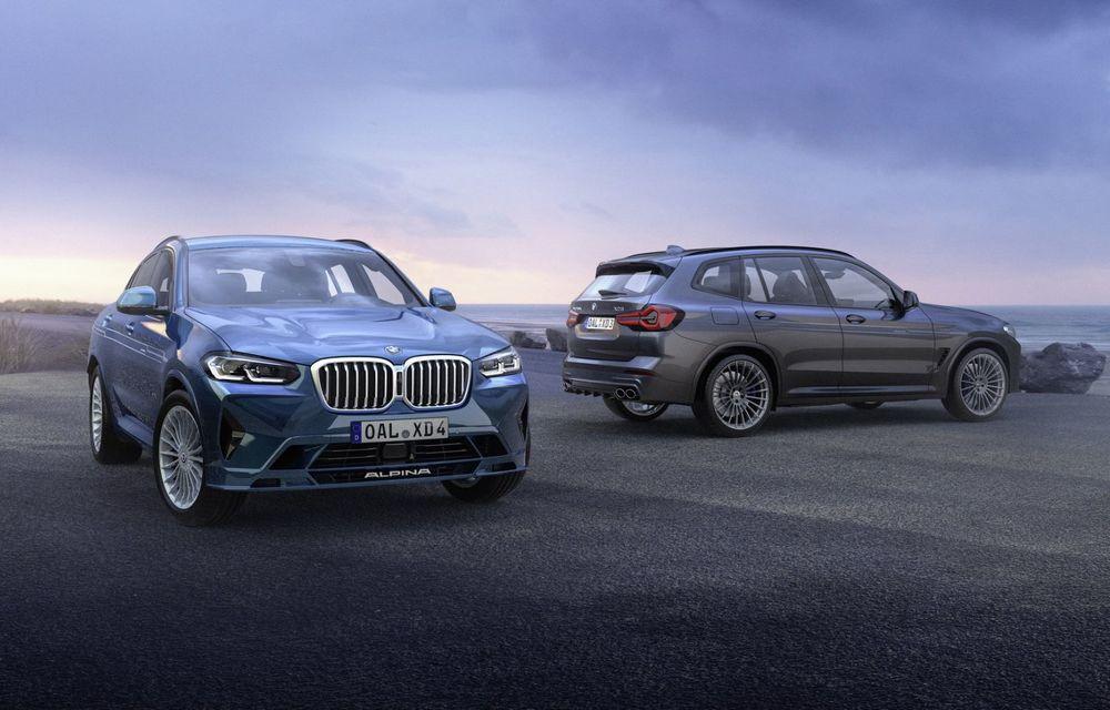 Alpina lansează XD3 și XD4 facelift: motorul diesel, cu patru turbine, oferă mai mult cuplu - Poza 1