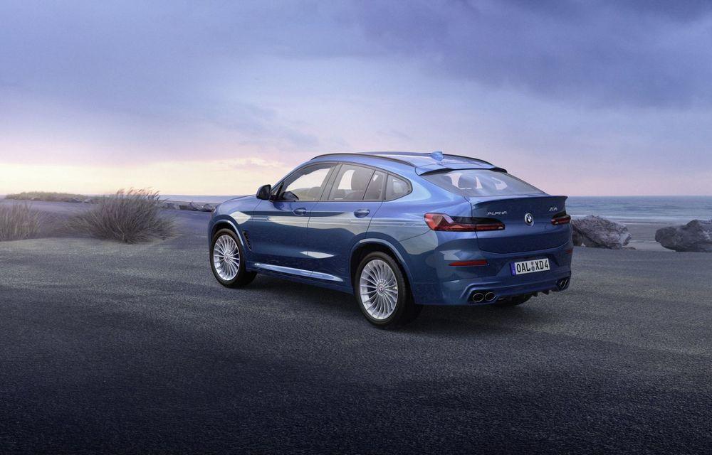 Alpina lansează XD3 și XD4 facelift: motorul diesel, cu patru turbine, oferă mai mult cuplu - Poza 4