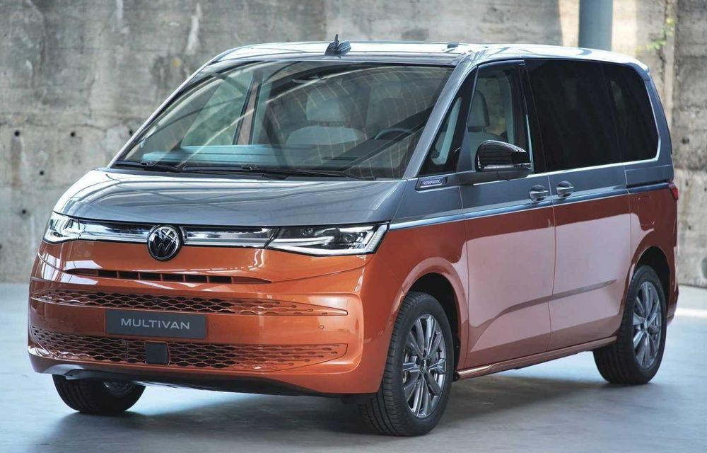 Noua generație Volkswagen Multivan debutează oficial cu versiune plug-in hybrid - Poza 9